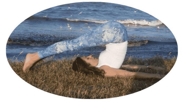 hatha yoga posture halasana - 1