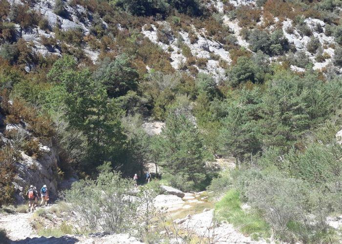stage yoga Espagne Sierra Guarra octobre 2016 - 1