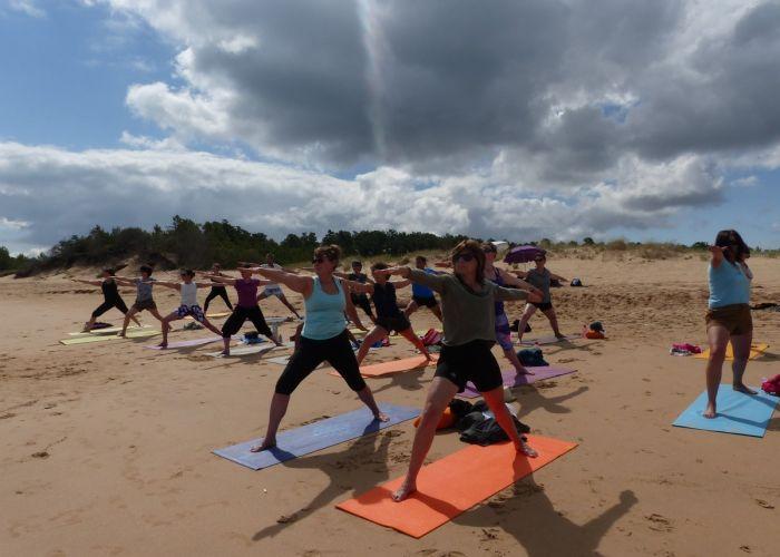 stage yoga Ile Oléron 2017 - 1