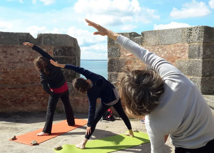 stage yoga tour Hougue Nord Cotentin 2017 - 1