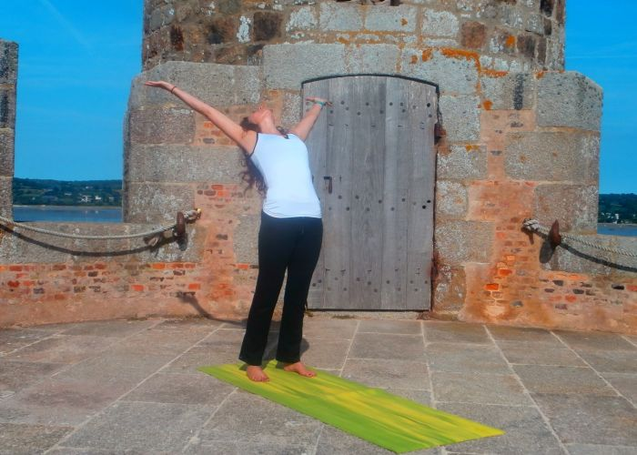 yoga Angoulême Charente Salutation au Soleil photo - 3