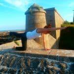 yoga Angoulême posture amsasana oie - 1