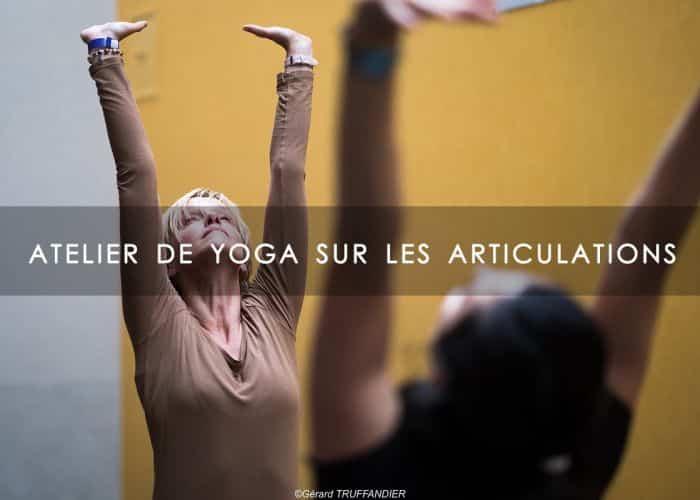 ATELIER DE YOGA SUR LES ARTICULATIONS