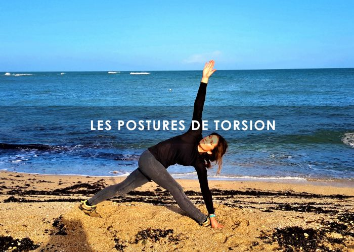L‌‌‌‌‌es postures de rotation,torsion